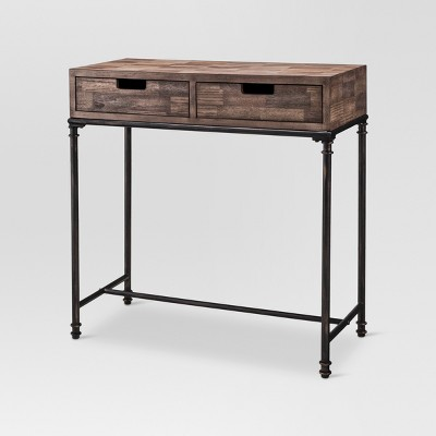 Mixed Material Console Table - Threshold™