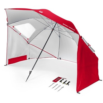 Sport-Brella Portable Sun and Weather Shelter - Firebrick Red