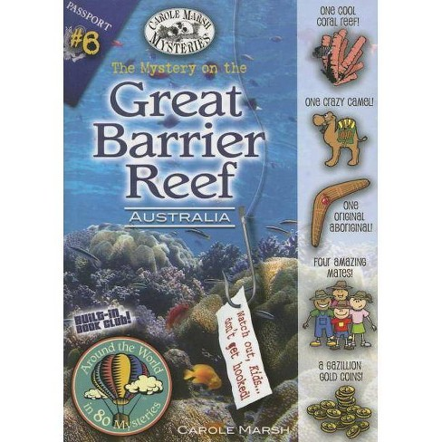 The Mystery on the Great Barrier Reef - (Around the World in 80 Mysteries (Paperback)) by  Carole Marsh - image 1 of 1