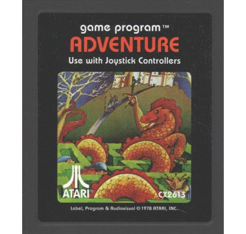 Adventure Journal : The Atari 2600 Game Journal (Hardcover) - image 1 of 1