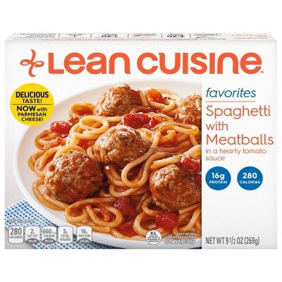 Lean Cuisine Favorites Frozen Spaghetti With Meatballs - 9.5oz