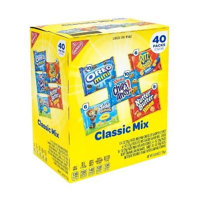 Nabisco Classic Mix Variety Pack - 40pk