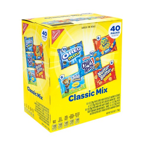 Nabisco Classic Mix Variety Pack - 40pk - image 1 of 6