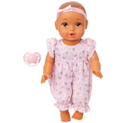"""Perfectly Cute 14"""" Giggle Fun Baby Doll - Brunette with Brown Eyes"""