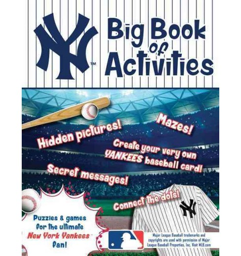 New York Yankees : The Big Book of Activities (Paperback) (Peg Connery-Boyd) - image 1 of 1