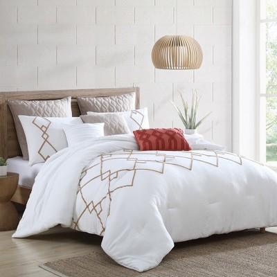 Modern Threads 8 Piece Tufted Comforter Set, Kalene.