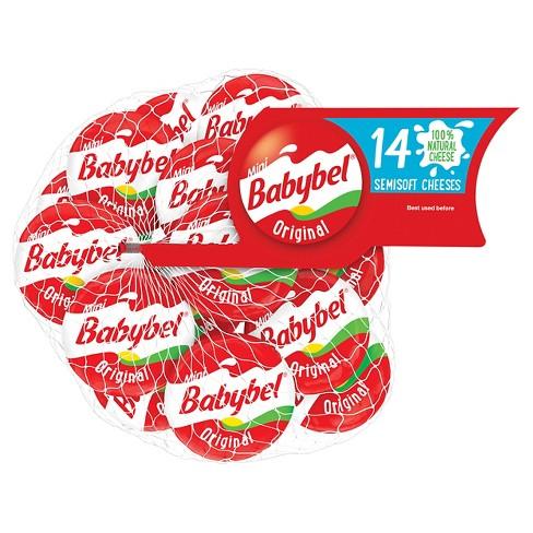 Mini Babybel Original Semisoft Cheese - 14ct
