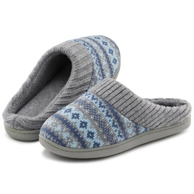RockDove Women's Sweater Knit Hoodback Slipper