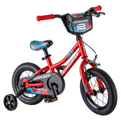 "Schwinn Jumping Jack 12"" Kids' Bike - Red"