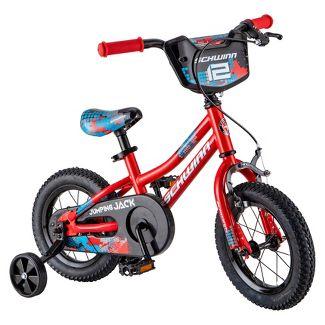 "Schwinn Jumping Jack 12"" Kids' Bike - Red"