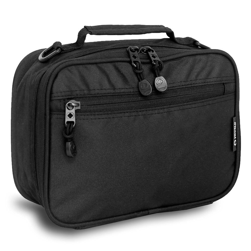 J World Cody Lunch Bag With Shoulder Strap Black