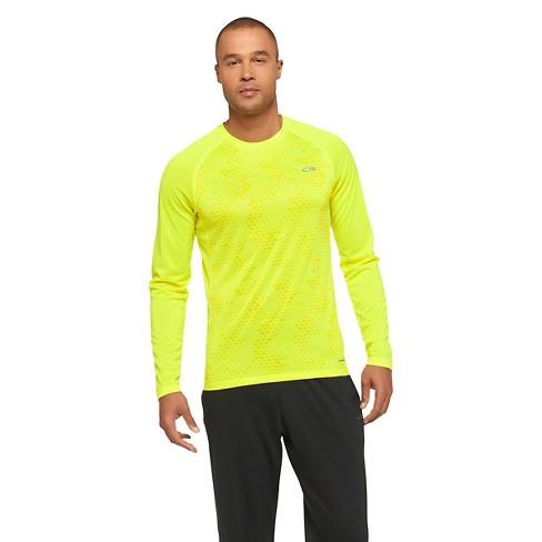 32c02f4675c3 Men's Running Long Sleeve T-Shirt - C9 Champion® Highlighter Yellow ...