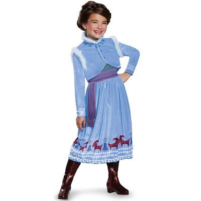 Frozen Anna Frozen Adventure Dress Deluxe Toddler/Child Costume