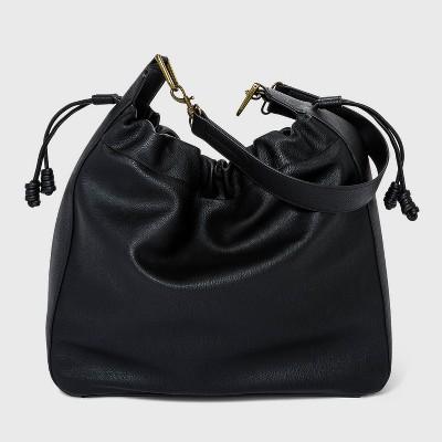 Drawstring Closure Hobo Handbag - Universal Thread™