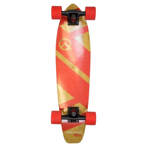 "Quest® Super Cruiser MINI 27"" Skateboard - Red - image 1 of 6"