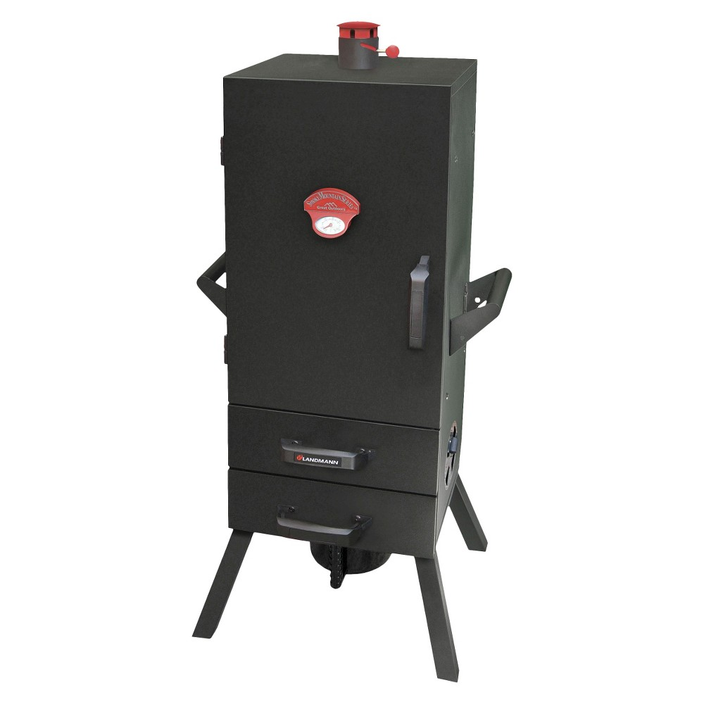 Landmann Smoky Mountain Vertical Charcoal Smoker – 34, Black 14217694