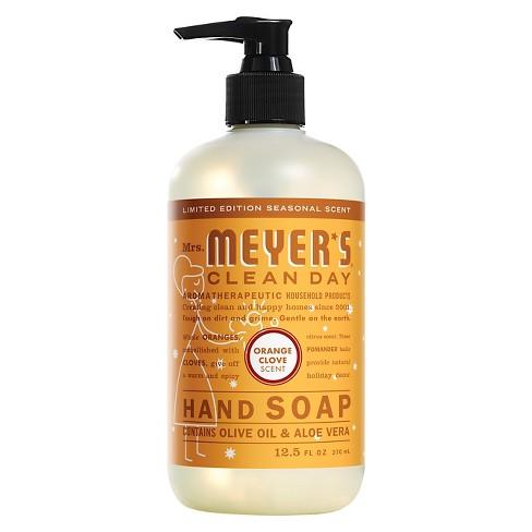 Mrs. Meyer's Orange Clove Hand Soap - 12.5oz - image 1 of 1