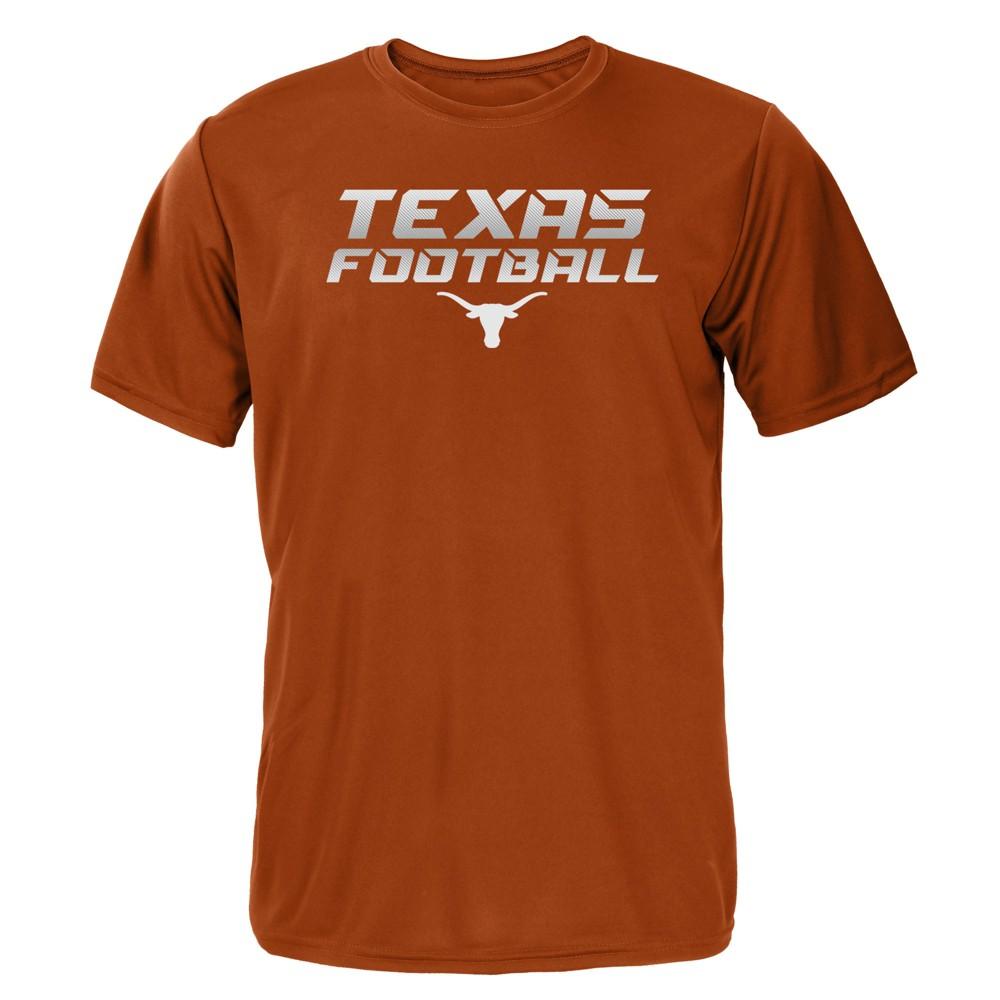 Texas Longhorns Boys' Short Sleeve Activewear T-Shirt - Orange - M