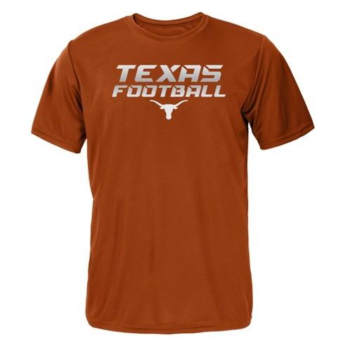 Texas Longhorns Boys' Short Sleeve Activewear T-Shirt - Orange - image 1 of 1