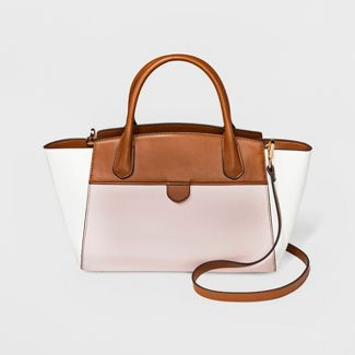 Winged Satchel Handbag - A New Day™ Pink