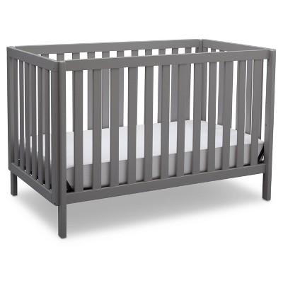 Delta Children Milo 3-in-1 Convertible Crib - Gray