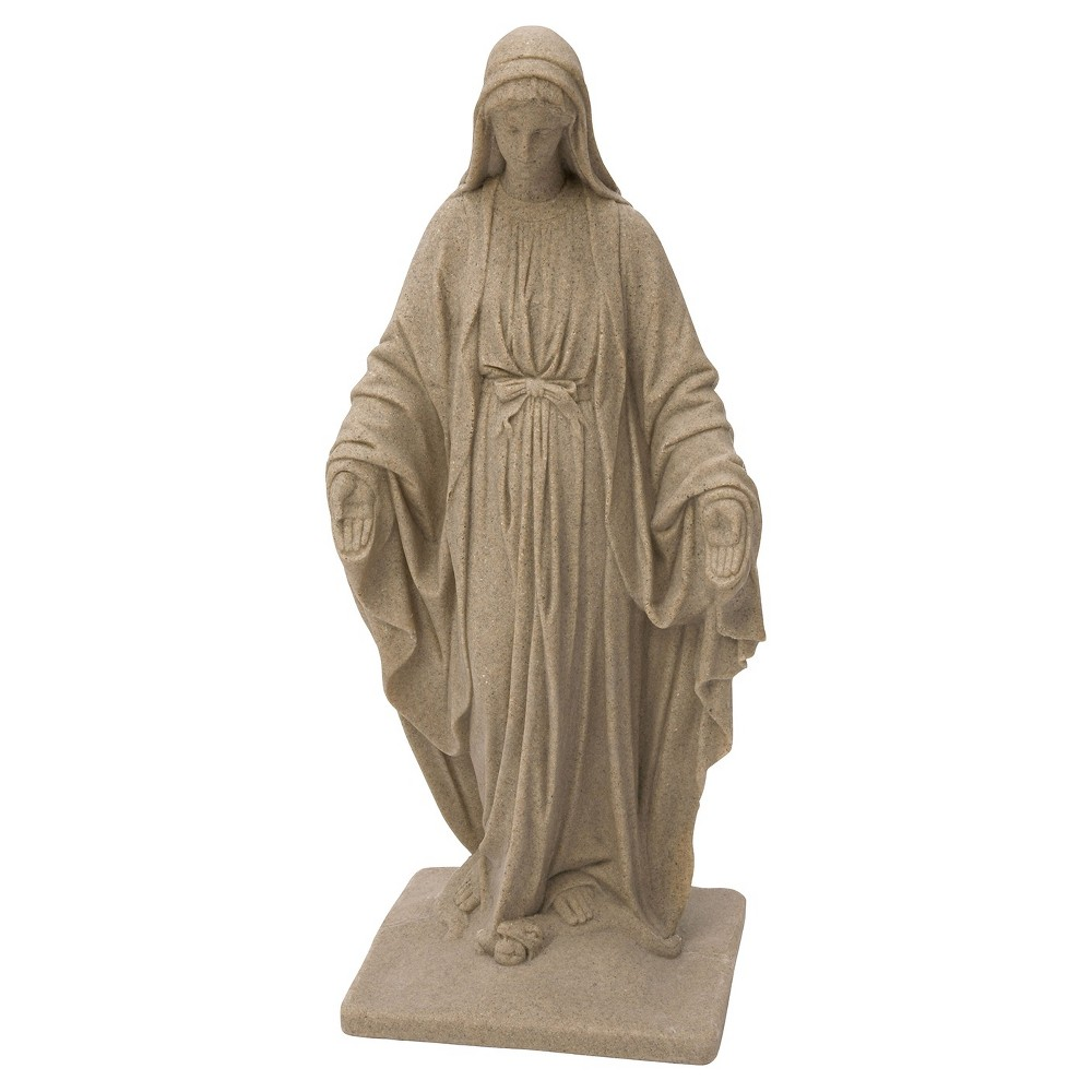 Emsco 34.38 Virgin Mary Statuary - Sand (Brown)