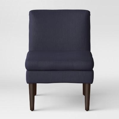 Winnetka Modern Slipper Chair Navy - Project 62™