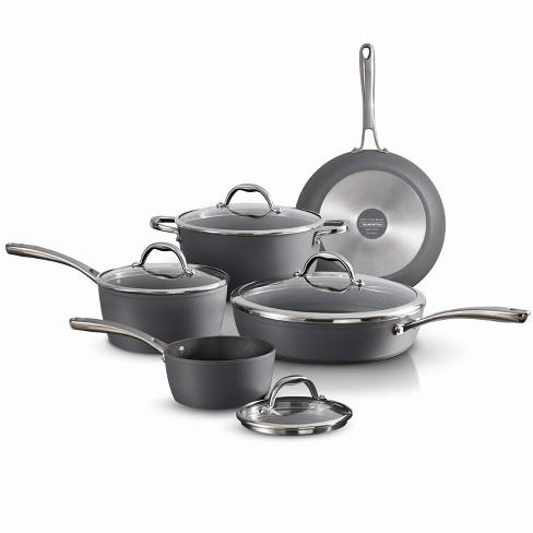 Tramontina Gourmet 9pc Nonstick Aluminum Cookware Set Gray - image 1 of 3