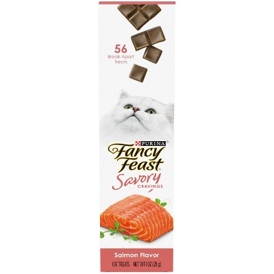 Fancy Feast Salmon Savory Cravings Dry Cat Treats