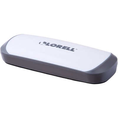 Lorell Dry Erase Magnetic Eraser Red/White 52559