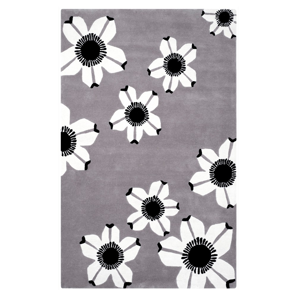 Allure Rug - Gray - (4'X6') - Safavieh
