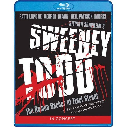 Sweeney Todd In Concert (Blu-ray) - image 1 of 1
