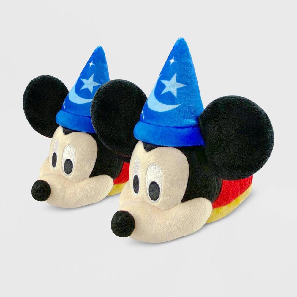 Best Kids' Disney Mickey Mouse Slide Slippers - Red/Blue  - Disney Store