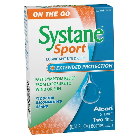 Systane Sport Extended Protection Lubricant Eye Drops -0.14 oz - image 1 of 1