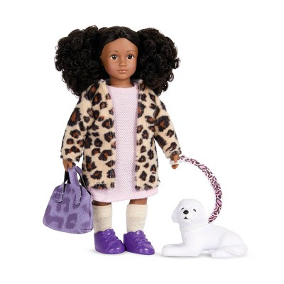 """Lori - 6"""" Mini Doll & Dog - Ariah & Winston"""
