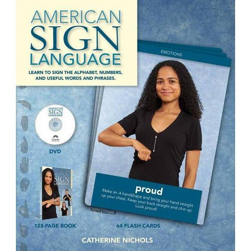 American Sign Language - by  Catherine Nichols (Mixed media product) - image 1 of 1