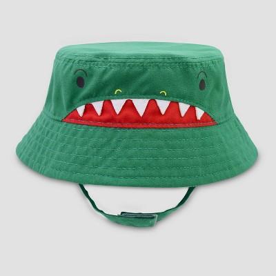 Baby Boys' Alligator Woven Hat - Cat & Jack™ Green 6-12M