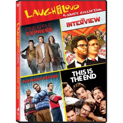 The Interview / The Night Before / Pineapple Express / This Is The End (DVD)