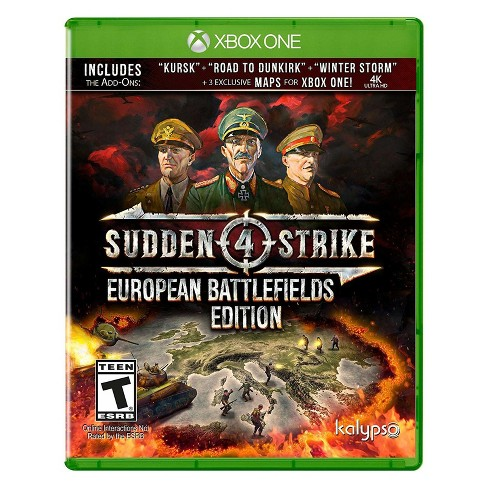 Sudden Strike 4: European Battlefields Edition - Xbox One - image 1 of 9