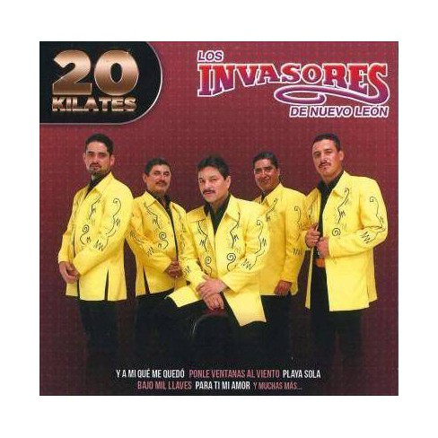 Los Invasores De Nuevo Leon - 20 Kilates: Los Invasores De Nuevo Leon (CD) - image 1 of 1