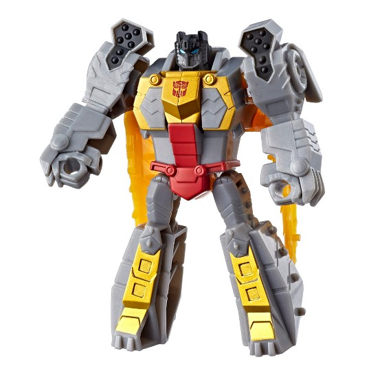 Transformers Toys Cyberverse Action Attackers Scout Class Grimlock Action Figure - Repeatable Chomp Jaw Action Attack image number null