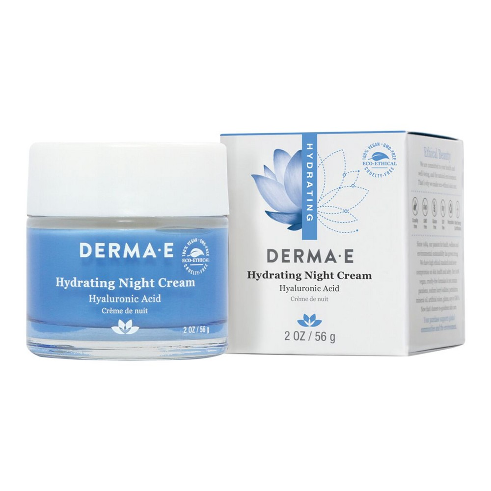 Image of Derma E Hydrating Night Cream - 2 oz