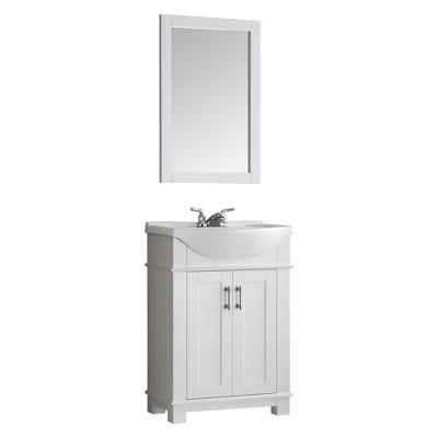 """Fresca Hartford 24"""" Traditional Bathroom Vanity"""