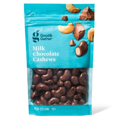Milk Chocolate Cashews - 12oz - Good & Gather™