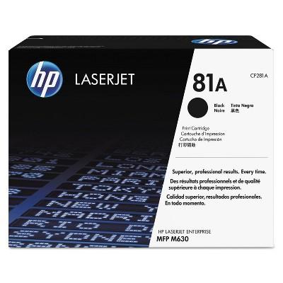 HP Inc. HP 81A (CF281A) Black Original LaserJet Toner Cartridge