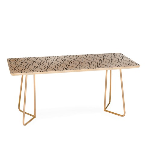 Heather Dutton Fuge Coffee Table by Deny Designs - image 1 of 2