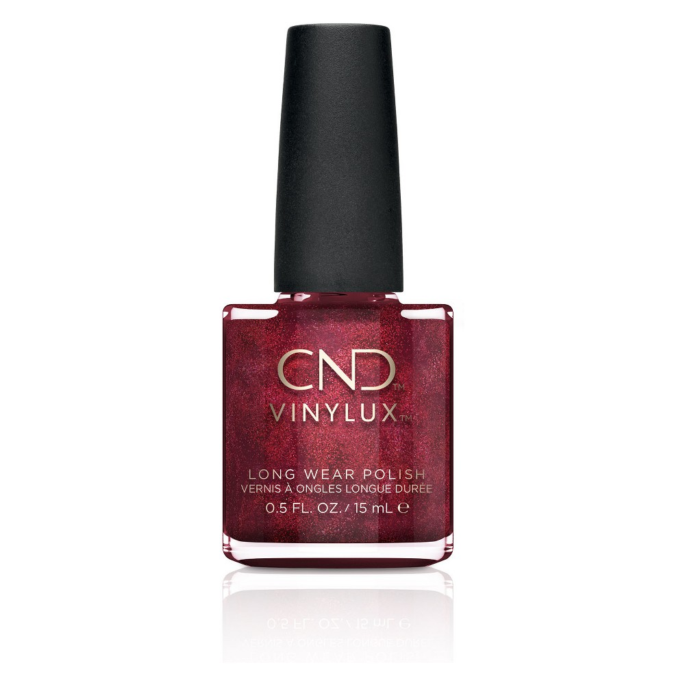 Image of CND Vinylux Long Wear Nail Polish - 110 Dark Lava - 0.5 fl oz