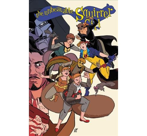 Unbeatable Squirrel Girl 3 -  (Unbeatable Squirrel Girl) by Ryan North (Hardcover) - image 1 of 1