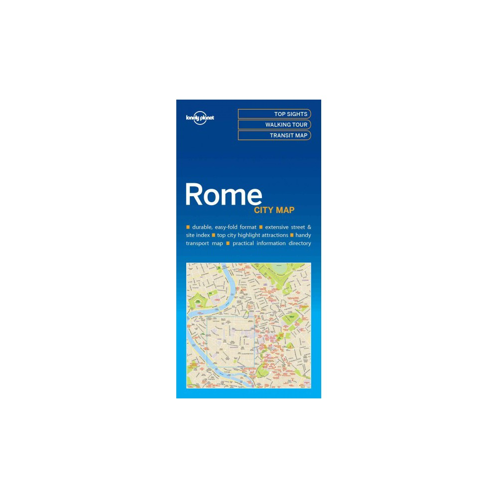 Lonely Planet City Map Rome (Paperback)