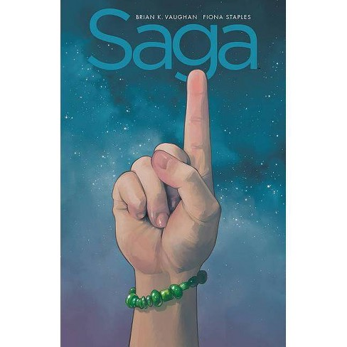 Saga: Compendium One - by  Brian K Vaughan (Paperback) - image 1 of 1